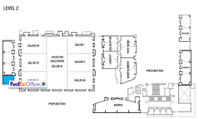 houston map convention center marriott marquis houston houston tx business printing
