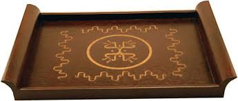 engraved serving tray mahogany serving tray engraving with a laser