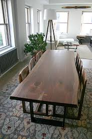 live edge table west elm marvelous raw edge dining table pictures best inspiration home