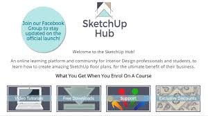 online sketchup course update brown 3d visualisation