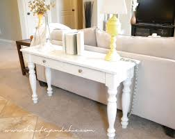 Sofa Table Ideas Exellent Diy Sofa Table Ideas Idea To Make A Long Narrow Console