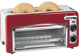 Toaster Oven With Auto Slide Out Rack Toaster Oven With Toaster On Top Hamilton Beach Toastation 22708