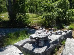 diy sculptures at the shawnagunks rock gardens the other hudson