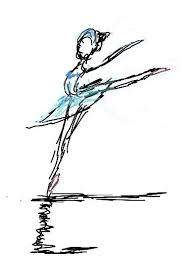 ballerina ballet sketch swan lake image 318621 on favim com