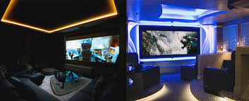 Home Theater Design Ideas For Men Movie Room Retreats - Home theater design ideas