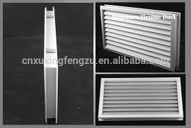 ventilation anodized aluminum air vent door for bathroom interior