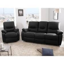 canapé et fauteuil en cuir ensemble canapé et fauteuil cuir achat vente ensemble canapé et