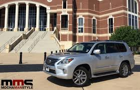 lexus lx 570 cool box the lexus lx 570 is a fully capable luxurious suv mocha man style