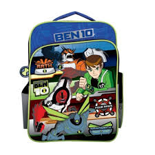 ben 10 ultimate alien bag blue colour