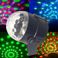 mini disco ball light 3w mini rgb led projector dj lighting light dance disco voice