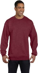 amazon com champion men u0027s double dry eco fleece crew clothing