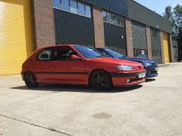 used peugeot 306 peugeot 306 phase 1 cherry red diseño pinterest peugeot