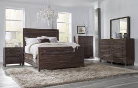 townsend collection 6 piece cal king size bedroom set mahogany