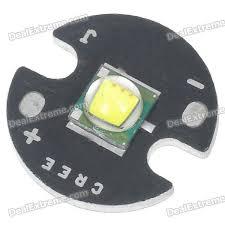 Led Xml T6 Xm L T6 885lm Led Emitter 6000k White Light Bulb 3 0 3 5v Free