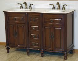 55 u201d perfecta pa 195 bathroom vanity double sink cabinet american