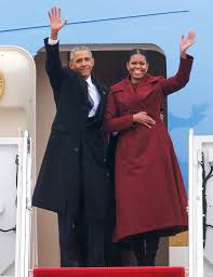 presidential inauguration the obama family leaves d c people com