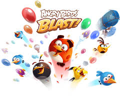 angry birds blast angry birds