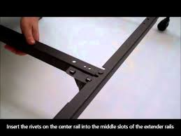 Assemble King Size Bed Frame How To Assemble A King Size Bed Frame Mantua I Pk170 Size