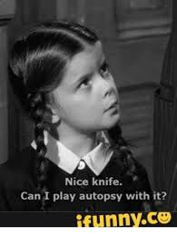 Wednesday Addams Meme - 25 best memes about wednesday addams smile gif wednesday