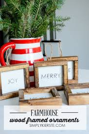Christmas Decor Diy Ideas With Wood Diy Gifts Ideas Add Some Farmhouse Style To Your Christmas Tree