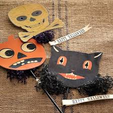 Vintage Halloween Decorations For Sale 80 Best Halloween Paper Mache Images On Pinterest Holidays