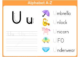 letter u tracing worksheet free printable puzzle games