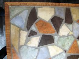 how to make a mosaic table top how to make a mosaic tile tabletop how tos diy