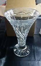 Large Waterford Crystal Vase Waterford Lismore Vase Ebay