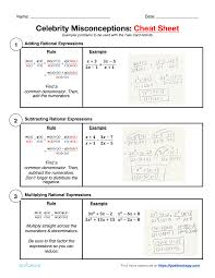 hsa apr 7 operations of rational expressions math high