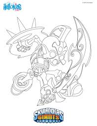 skylander printable coloring pages chopchop coloring pages hellokids com