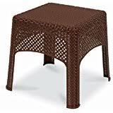 Wicker Accent Table Amazon Com Wicker Side Tables Tables Patio Lawn U0026 Garden
