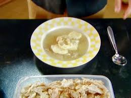 chicken and dropped dumplings recipe alton brown food network