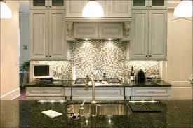 Easy Bathroom Backsplash Ideas by Kitchen White Cabinets Golden Pendant Lamp Dark Cabinets And