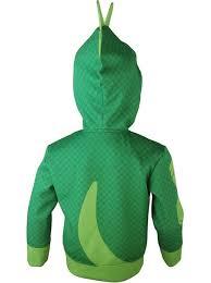 kids boys pj masks gekko greg hoodie jacket pullover cosplay
