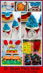 dr seuss birthday party ideas 40 dr seuss birthday ideas crafts printables