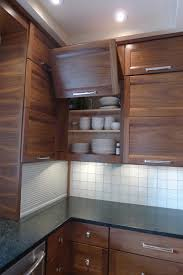 horizontal top kitchen cabinets walnut horizontal grain kitchen contemporary kitchen