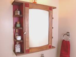 bathroom mirrored bathroom cabinet with shelves decor color