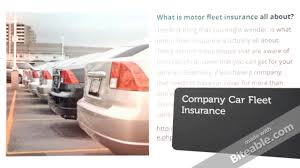 motor fleet insurance what you need to know youtube