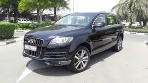 Audi Q7 2013 - audi q7 turbo 2013 3 0l black color perfect kargal uae
