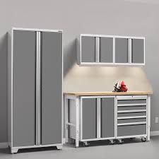 new age pro series cabinets newage products pro 3 0 series 6 piece garage storage cabinet set