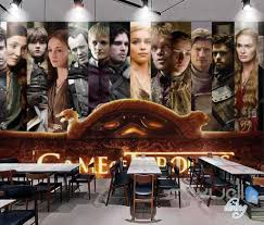 3d game of thrones characters poster wall mural paper art decor