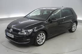 volkswagen car black used volkswagen golf gt black cars for sale motors co uk