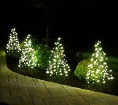 s 2 pre lit led 3 u0027 fold flat outdoor christmas trees by lori