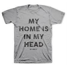 Bob Marley Home Decor Bob Marley Home Is In My Head Mens Premium Soft T Shirt