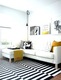 Striped Area Rugs 8x10 Black And White Living Room Rug How To Make A Statement With Black