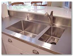 stainless steel countertop with built in sink stainless steel countertop with integrated sink healthfestblog
