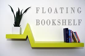 make a floating bookshelf youtube