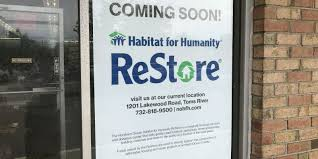 Used Furniture Sign Habitat U0027s Restore Coming To Old Bob Kislin U0027s In Toms River