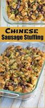 stuffing casserole recipe thanksgiving chinese sausage stuffing savory experiments