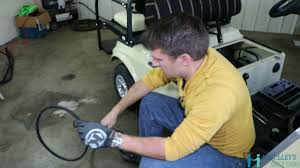 how to replace your starter generator belt on the 2004 club car ds